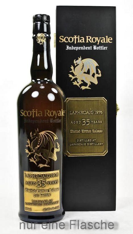 Laphroaig Whisky 1976 35 y.o.