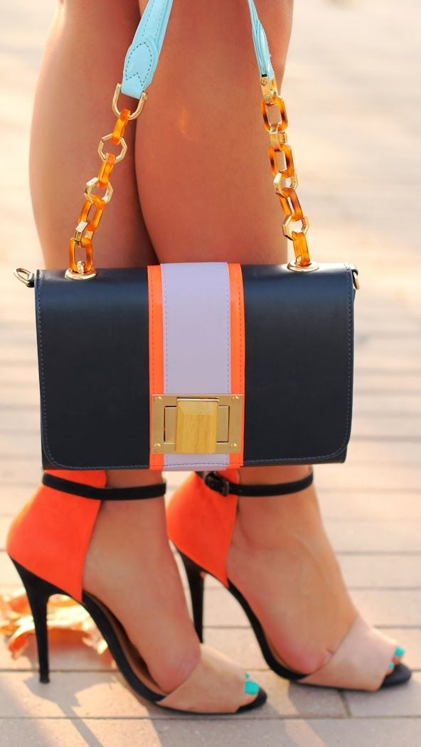 Ways to get matchy matchy this summer. Love the colors in this combo