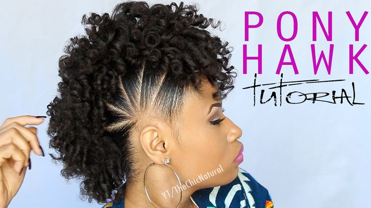 This is the style all naturals have been waiting for. In this tutorial, you will learn how to do a pony hawk hairstyle. Switch up your style this holiday!