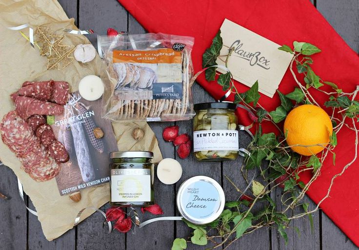 Gin Lover's Medium Christmas Charcuterie Board