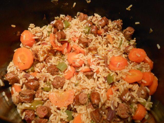 Blog de lesrecettesdenath :Les recettes de Nath, Riz à l'orientale aux légumes