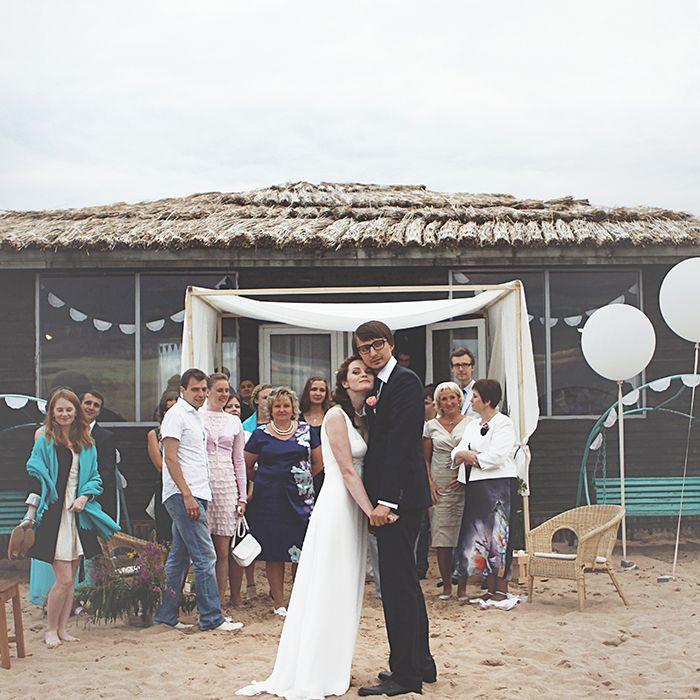 Июльская свадьба на маяке. История создания « Свадебное Love Bureau