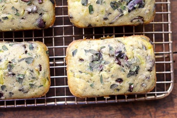 These savory little Kalamata Olive and Oregano Mini Loaves are perfect for an afternoon tea table. I think they would also be lovely cu...
