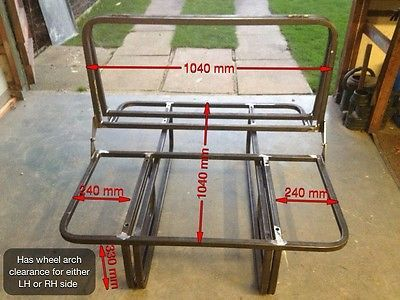 rock and roll bed, 3/4 Width, vw t4, vw t5, vivaro, traffic, vito, bongo.