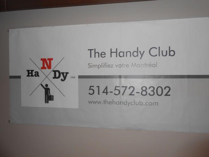 Bienvenue au Handy Club