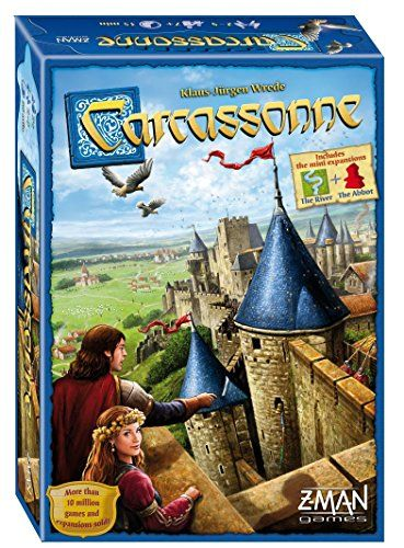 Carcassonne Board Game for multigenerational Game Time