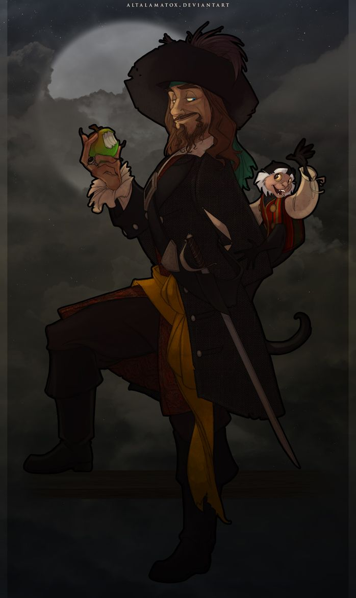 How d'ye Like Them Apples? by Altalamatox.deviantart.com on @DeviantArt. Captain Barbossa, heck yeah!