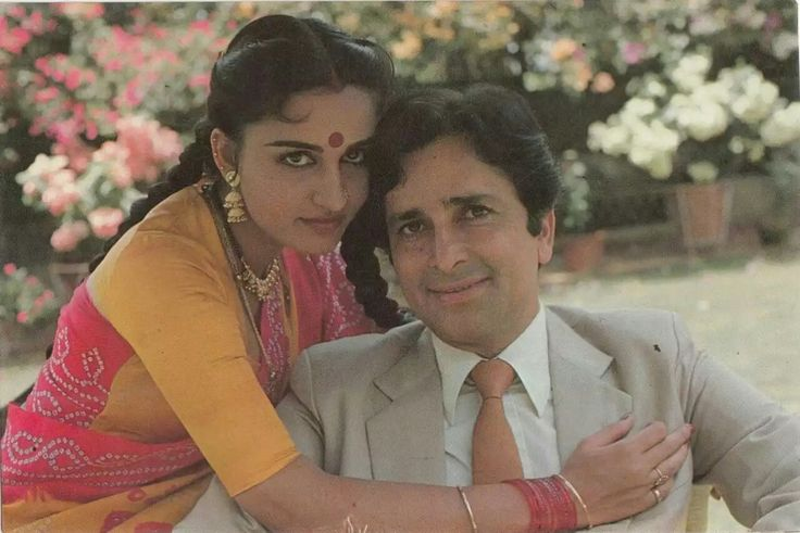 Reena Roy & Shashi Kapoor