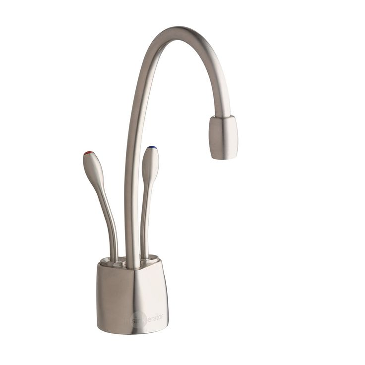 InSinkErator Hot/Cool Faucet (FHC1100) in chrome finish. Accessory for instant hot and remote chiller.