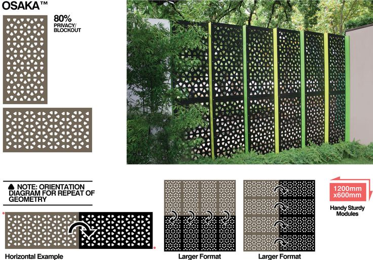 Outdoor Privacy Screens Cnc Pinterest