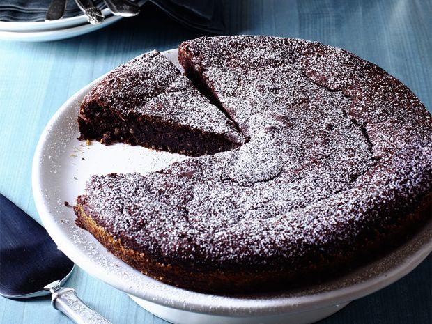 Chocolate-Almond Torte Recipe : Food Network Kitchen : Food Network - FoodNetwork.com