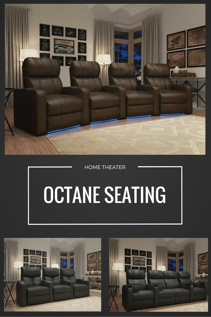 Elite home theater seating cuddle couch - Find This Pin And More On Salle Cinema