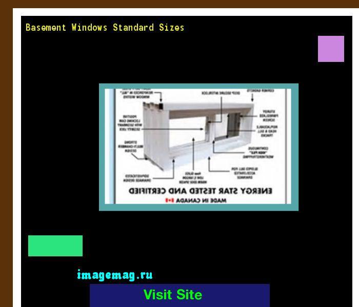 1000+ ideas about Standard Window Sizes on Pinterest | Window ...