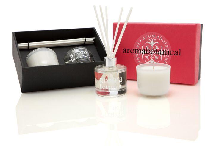 Rose Gardenia & Bergamot Mini Gift Set #aromabotanical