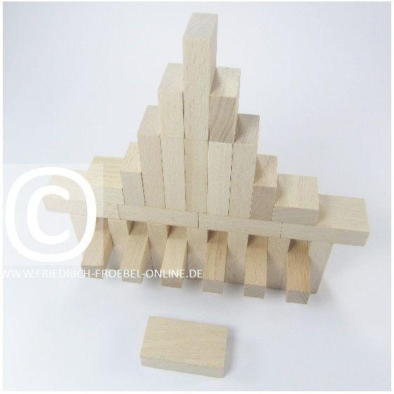 Lebensform (nach Marenholtz-Bülow) mit den Holzbausteinen der Spielgabe 6 nach Froebel -> Orgel