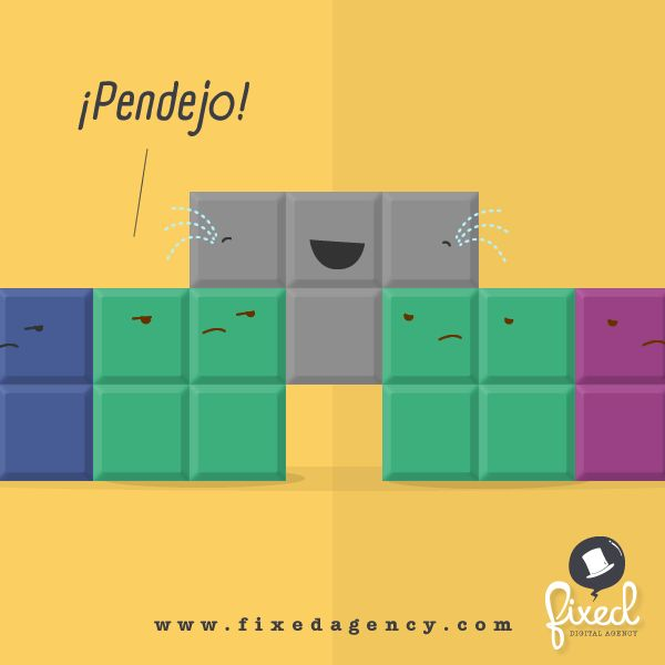 ¡TetrisAste el juego! - #Dichos #HumorGráfico - www.FixedAgency.com