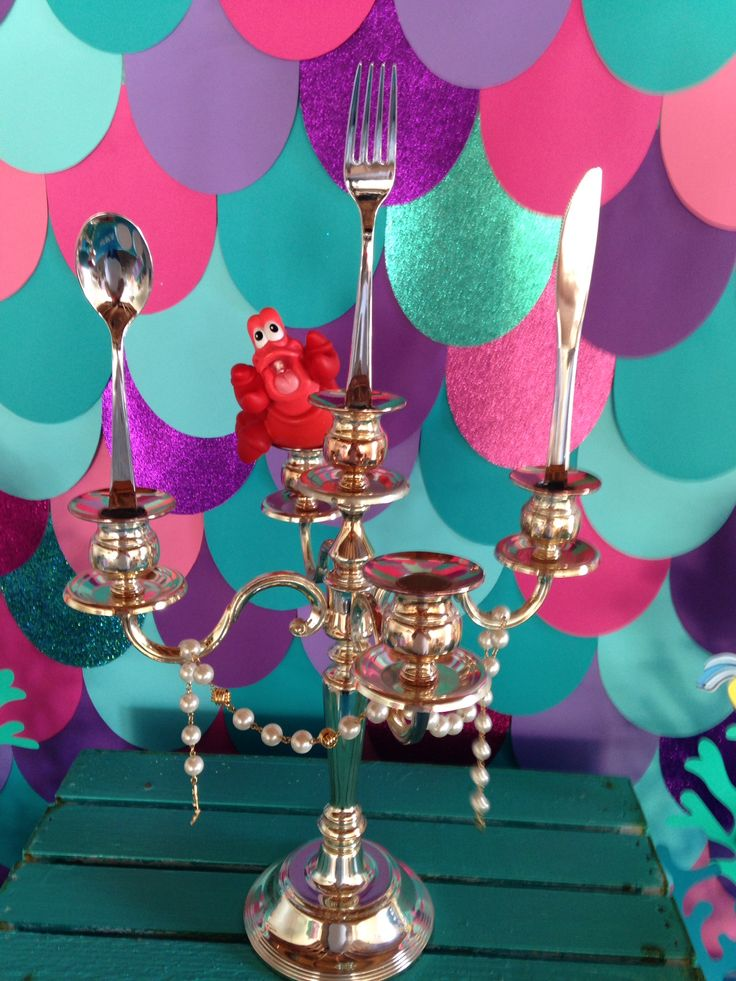Little Mermaid Party Decorations Ideas Ariel Treasure