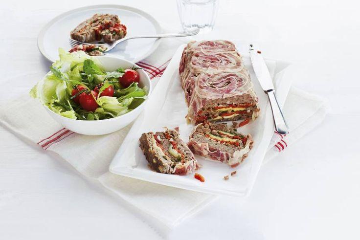 Italiaans gehaktbrood (polpettone) - Recept - Allerhande