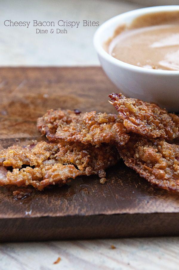 Cheesy Bacon Crispie Bites