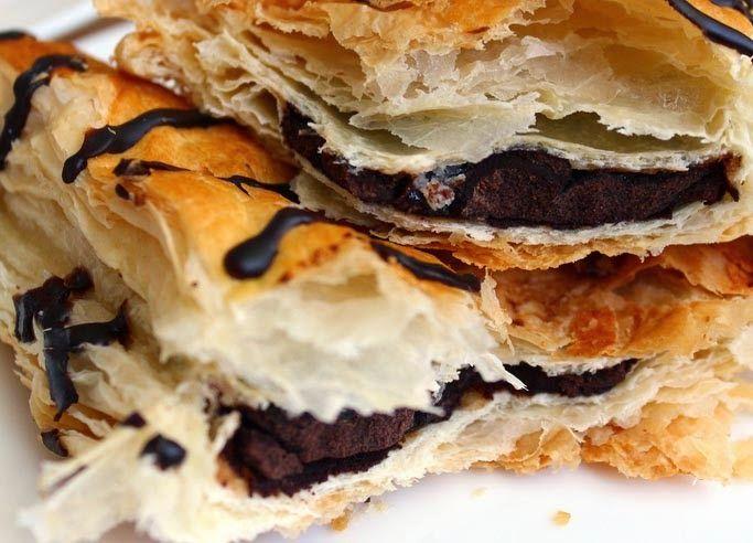 Resep Kue Natal Pastry Pisang Coklat