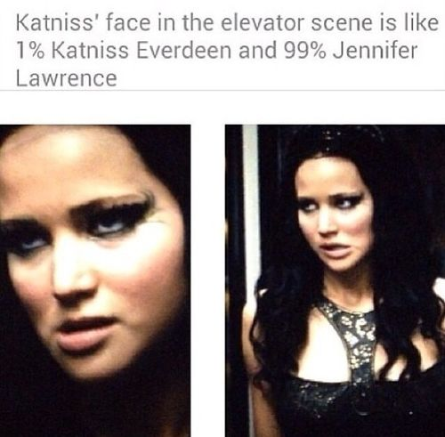 hahaha... it's true. I had to work really hard to not crack up in that scene--all because of her face.