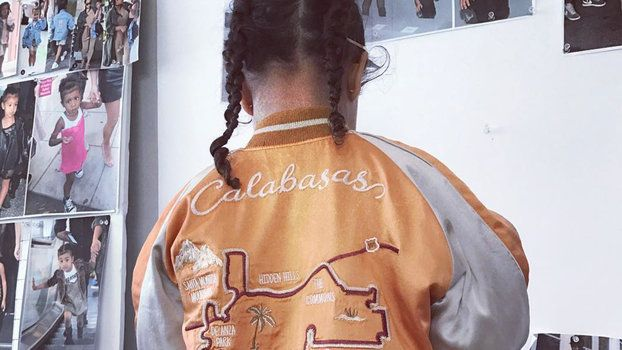 North West Rocks 240 Bomber Jacket from Kim and Kanyes New Kids Line