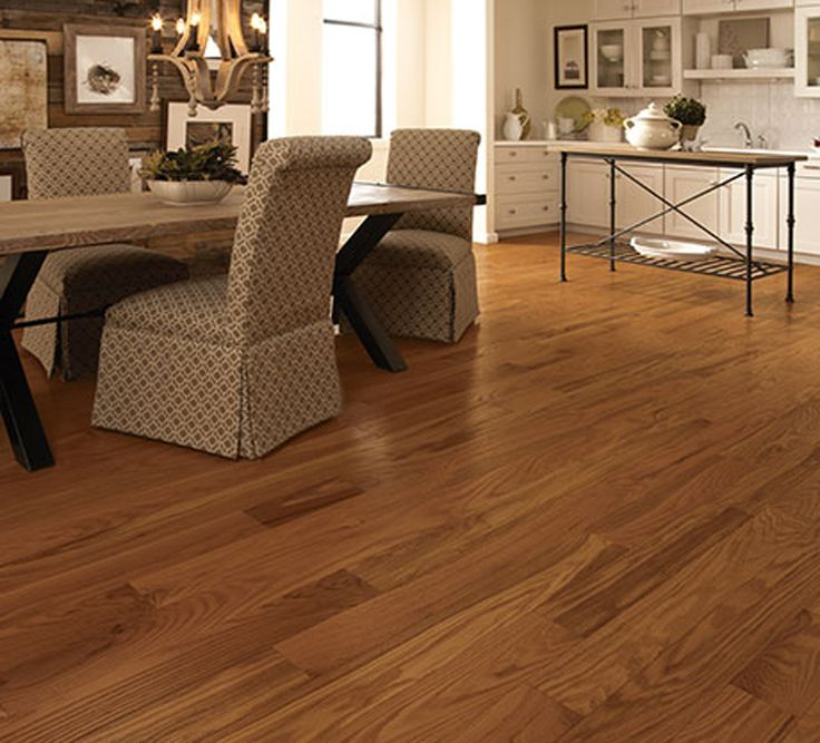Get This Classic Butterscotch Hardwood Flooring For You Home With 12 Month  0 Percent Financing!