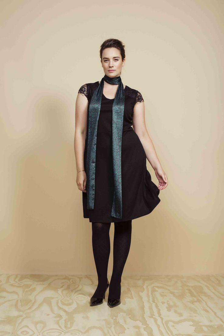 Party Collection | LBD | Little Black dress | Fashion | Plussize fashion | Zwarte jurk
