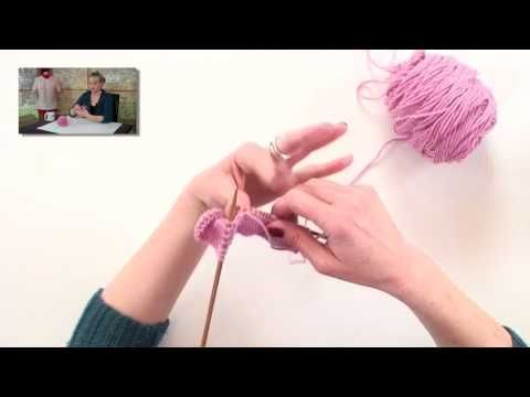 Knitting Help - Wrap and Turn (w) a new stitch for me - easily explained.