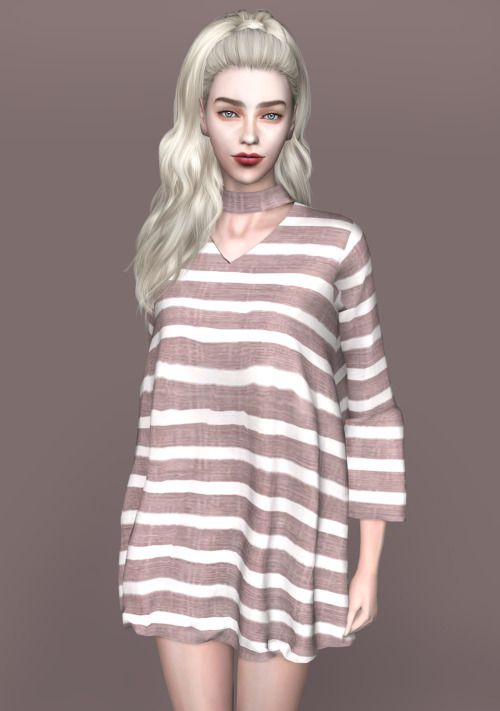 spectacledchic-sims4 | [spectacledchic-sims4] Choker Dress I know you all… | Sims 4 Updates -♦- Sims 4 Finds & Sims 4 Must Haves -♦- Free Sims 4 Downloads
