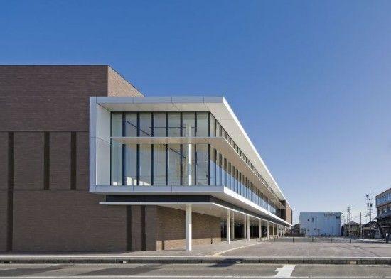 日建設計  『一宮市医師会館・ 一宮市中保健センター』  http://www.kenchikukenken.co.jp/works/1228371773/6419/