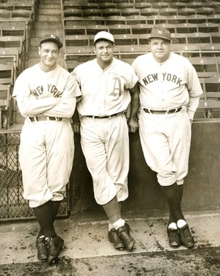 Gehrig, Foxx, and Ruth