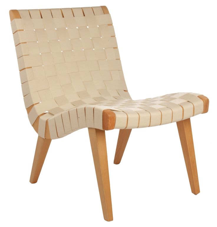 Lovely Replica Jens Risom Lounge Chair (Beech U0026 Maple) By Jens Risom   Matt Blatt