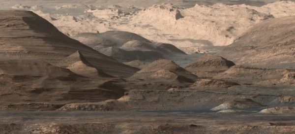 It's not Arizona or Utah … this is planet Mars as seen by Curiosity on September, 2015. This image shows regions that include a long ridge teeming with hematite, an iron oxide. Just beyond is an undulating plain rich in clay minerals. And just beyond that are a multitude of rounded buttes, all high in sulfate minerals. The changing mineralogy in these layers of Mount Sharp suggests a changing environment in early Mars, though all involve exposure to water billions of years ago.