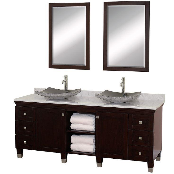 Wyndham Wc Cg5000 72e Bathroom Vanities Premiere 72 Double Bathroom Vanity