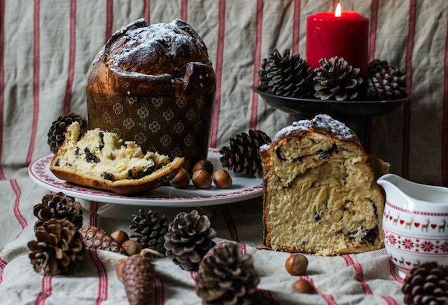 Panettone. El pan dulce milanés de Navidad | El panettone o pan dulce es una clase de bollo que se hace con una masa tipo brioche y que lleva frutas
