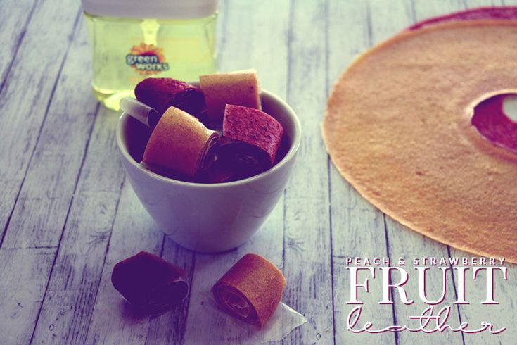 Need an easy, healthy snack for your next adventure? Try strawberry or peach fruit leather! Delicious, easy to make, and great for the whole family!