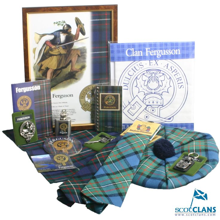 36 best Clan Ferguson Products images on Pinterest | Tartan, Crests ...