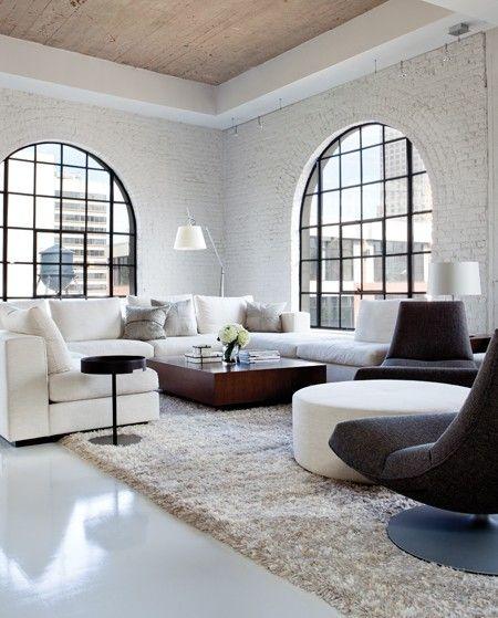 Charbonneau Apartments: 56 Best Painted Brick Walls Images On Pinterest