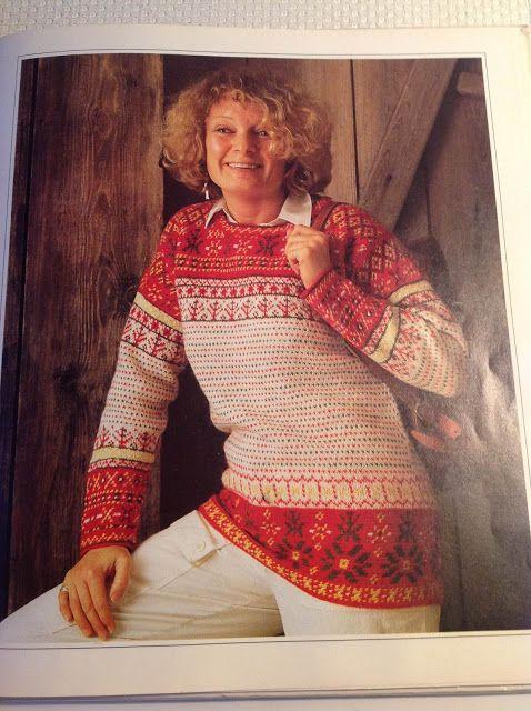 Cecilias Garden: Finnish heritage knits: The Korsnäs sweater