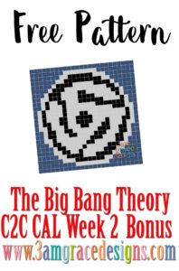 The Big Bang Theory C2C CAL – Week 2 - Howard Wolowitz crochet pattern