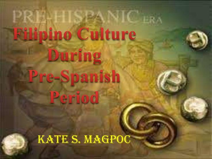 Pre spanish period in the philippines
