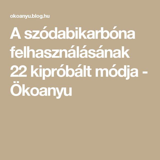 A szódabikarbóna felhasználásának 22 kipróbált módja - Ökoanyu