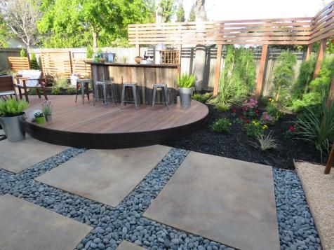 Chris Lambton And His Crew Transform This Boring Backyard Into A Beautiful Party Station Which