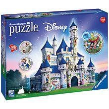 Buy Ravensburger Disney Castle 3D Puzzle, 216 Pieces Online at johnlewis.com