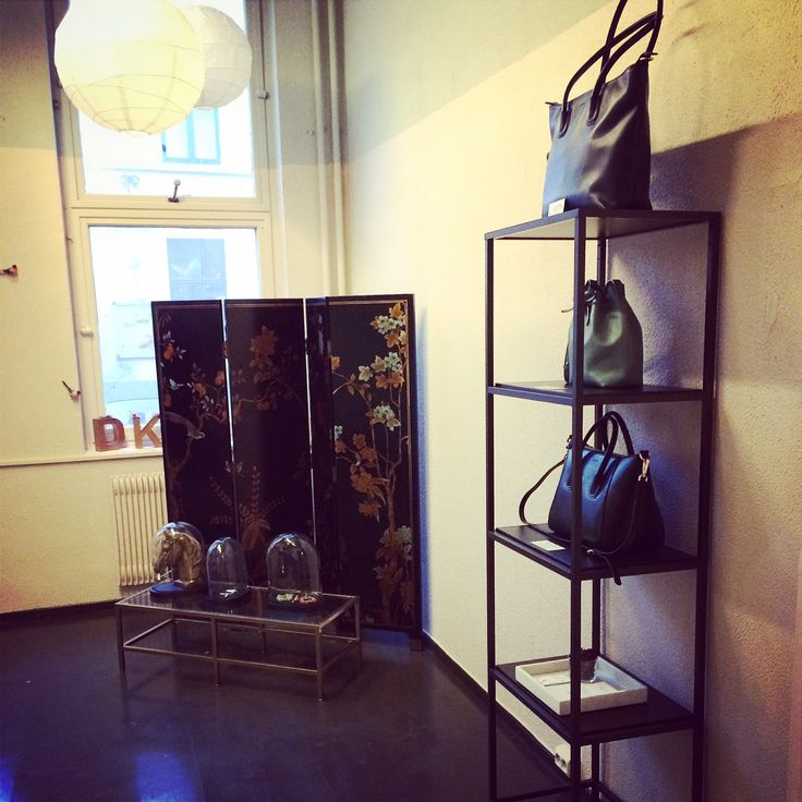 The new collection in place at Designerkollektivet in Oslo, Norway.