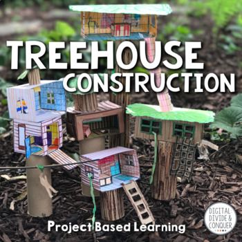 Dream houses don't have to be on the ground. Some of the best houses having been created in the trees. Treehouses have evolved from simple shacks in the backyard tree to multi-tiered architectural cathedrals in the air...and now your students can make their