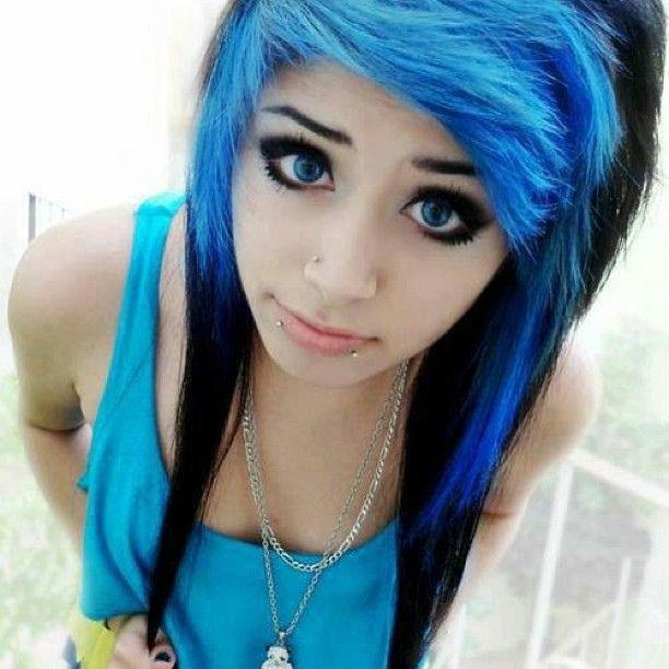 Black Emo Hair ...