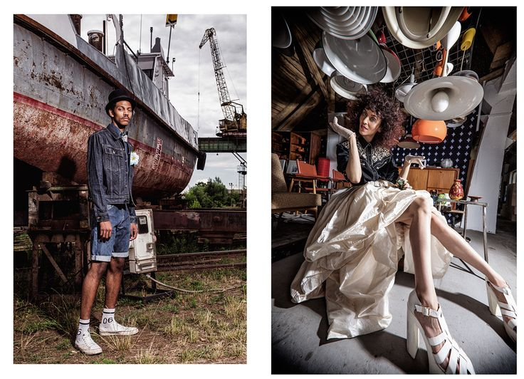 """Being different is often an unforgettable experience, especially when it happens with the help of Szputnyik shop. This time they have created an extraordinary fashion editorial in the philosophy of """"us against the world"""" inviting everyone to a bohemian wedding."""