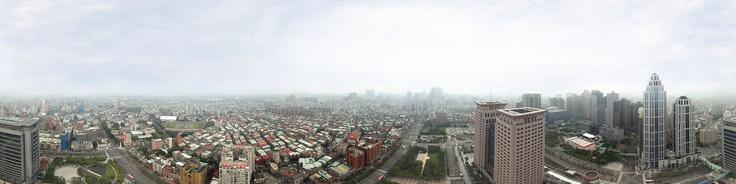 360 degree aerial panorama of Panchiao Railway Station on Sec. 1, Wenhua Rd., Banqiao Dist., New Taipei City 220, Taiwan (R.O.C.)Aerial Photo Altitude: 140 m